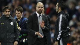 """Вторник. Манчестер. """"Манчестер Сити"""" - """"Монако"""" - 5:3. Увлекательные приключения Хосепа ГВАРДЬОЛЫ в Англии продолжаются."""