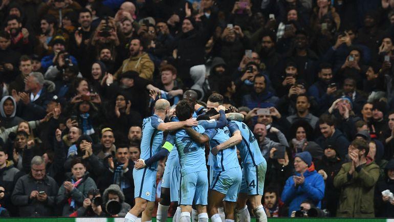 "Вторник. Манчестер. ""Манчестер Сити"" - ""Монако"" - 5:3. Хозяева радуются победе. Фото Reuters"