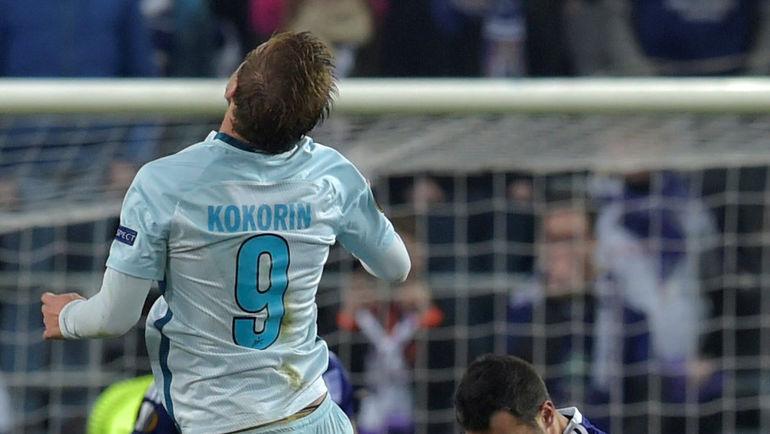 Александр КОКОРИН борется за мяч. Фото Reuters