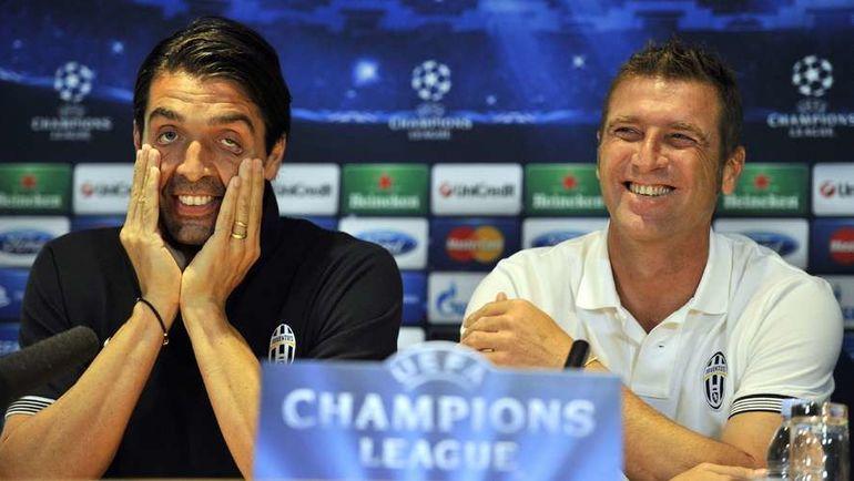 Джанлуиджи БУФФОН и Массимо КАРРЕРА. Фото Reuters