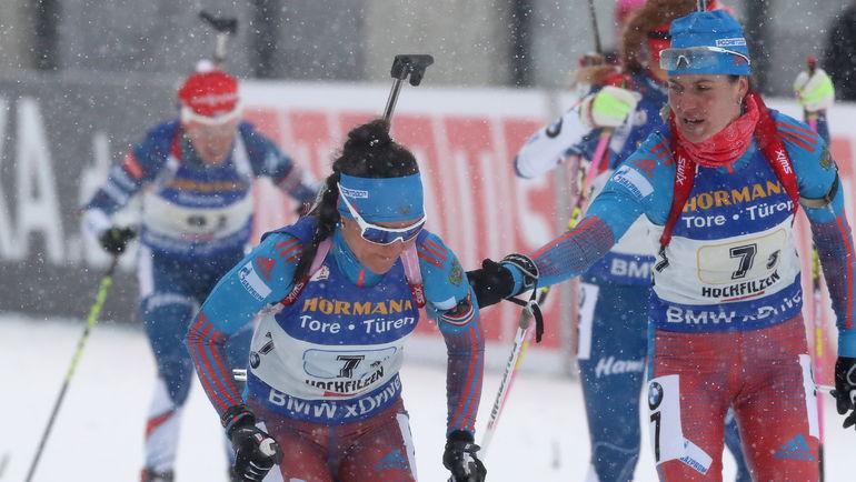 Татьяна АКИМОВА (слева) и Ирина СТАРЫХ. Фото ТАСС