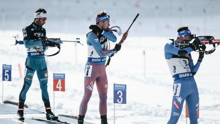 Антон ШИПУЛИН (по центру) и Мартен ФУРКАД (слева). Фото Герман МОРОЗОВ, СБР