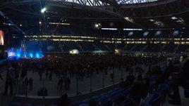 Сегодня. Санкт-Петербург. Первый концерт на новом стадионе.