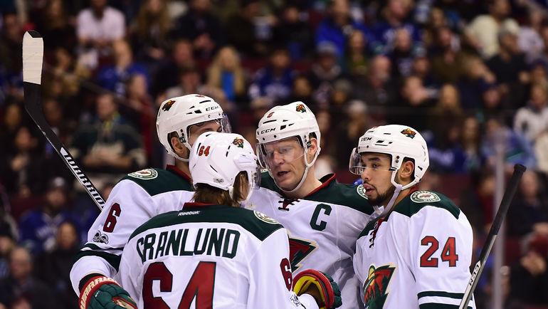 """По мнению самих же игроков, хоккеисты """"Миннесоты"""" стали сплоченее. Фото USA TODAY Sports"""
