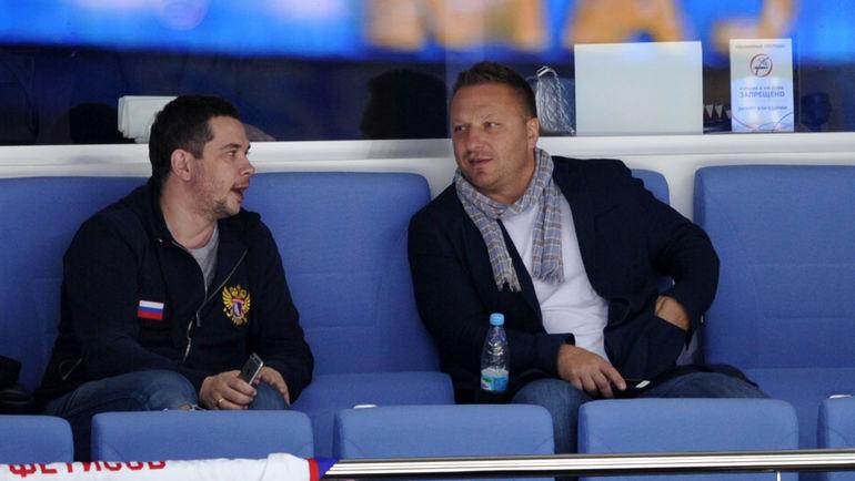 Дарюс КАСПАРАЙТИС (справа). Фото Алексей ИВАНОВ, «СЭ»