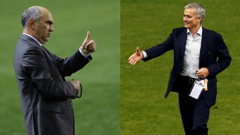 Курбан БЕРДЫЕВ и Жозе МОУРИНЬЮ. Фото Reuters