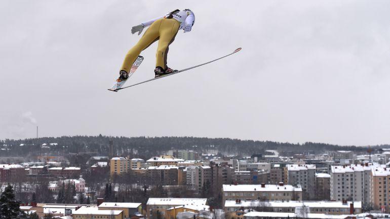 Вчера. Лахти. Ирина АВВАКУМОВА. Фото AFP
