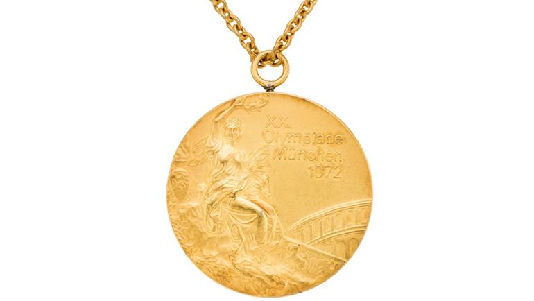 Золотая медаль ОИ-72. Фото ha.com