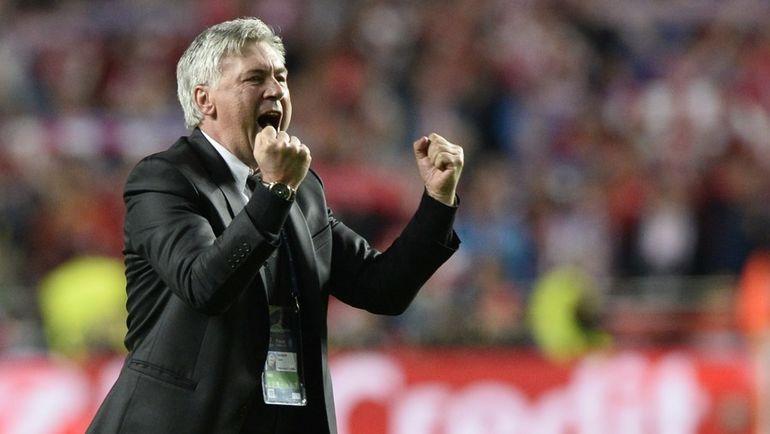 КАРЛО АНЧЕЛОТТИ выиграл три Лиги чемпионов как тренер. Фото AFP