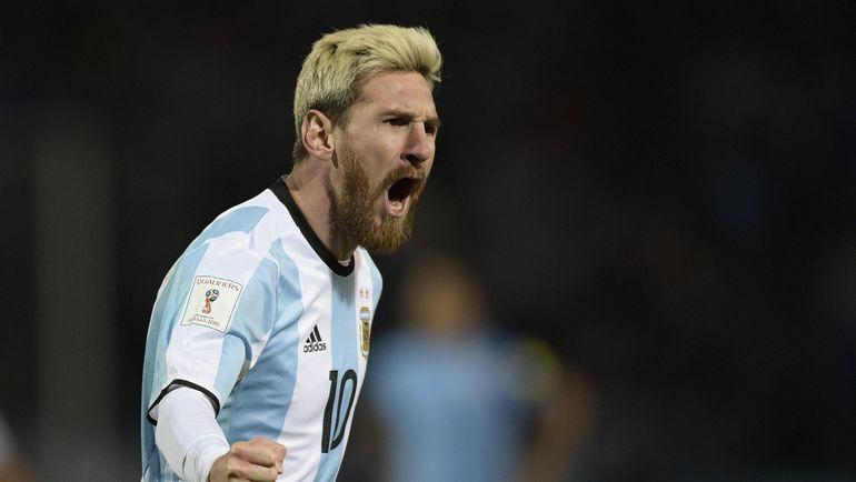 Лидер сборной Аргентины Лионель МЕССИ. Фото AFP
