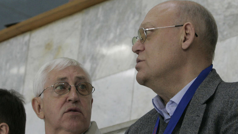 Борис МИХАЙЛОВ (слева) и Владимир ПЕТРОВ. Фото Федор УСПЕНСКИЙ, «СЭ»