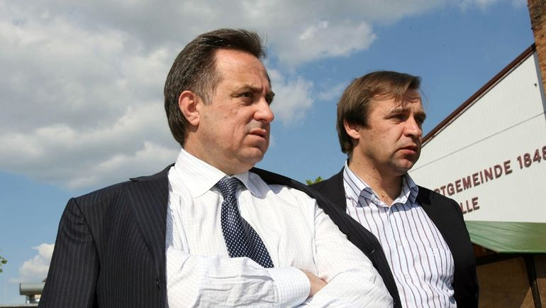Александр БОРОДЮК (справа) и Виталий МУТКО. Фото Александр ФЕДОРОВ, «СЭ»