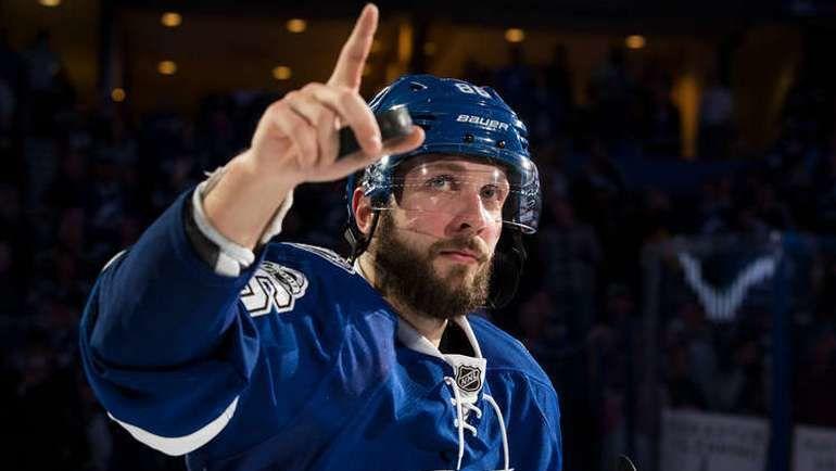 Никита КУЧЕРОВ - вторая звезда дня в НХЛ. Фото NHL.com