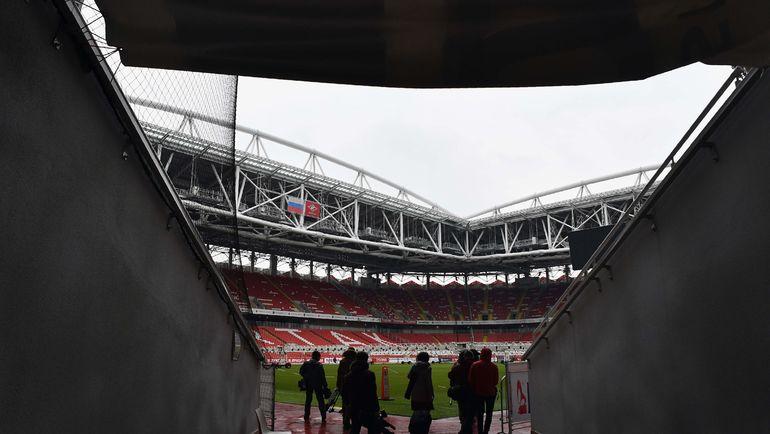 Журналисты на стадионе. Фото AFP