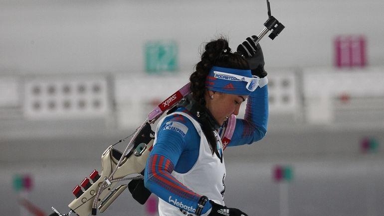 Сегодня. Пхенчхан. Татьяна АКИМОВА стала лучшей из россиянок в спринте, заняв 34-е место. Фото СБР