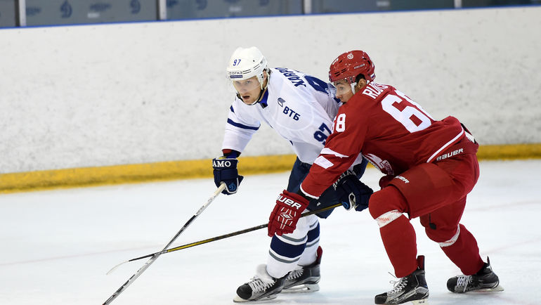 Герман РУБЦОВ (справа). Фото photo.khl.ru