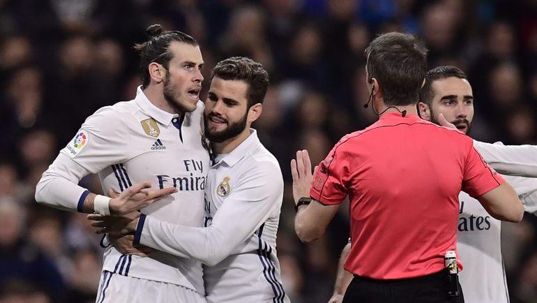 "Среда. Мадрид. ""Реал"" - ""Лас-Пальмас"" - 3:3. Гарет БЭЙЛ был удален на 47-й минуте. Фото AFP"
