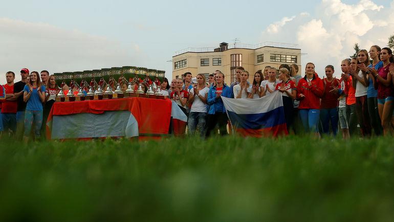 Минувшим летом российские легкоатлеты остались без Рио-2016 - и провели лишь внутренние старты. Фото REUTERS