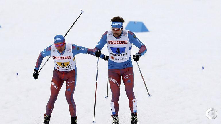 Сегодня. Лахти. Алексей ЧЕРВОТКИН (слева) и Сергей УСТЮГОВ.