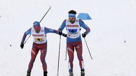 Сборная России - вторая в эстафете на чемпионате мира в Лахти