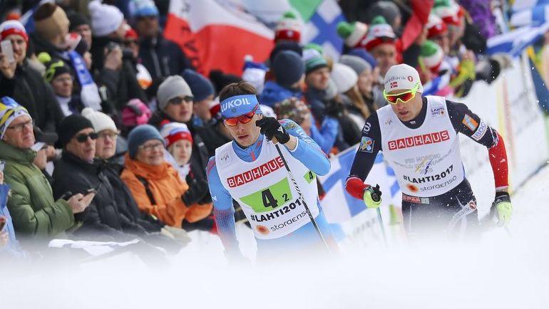Александр БЕССМЕРТНЫХ (слева) и Никлас ДЮРХЕУГ. Фото REUTERS
