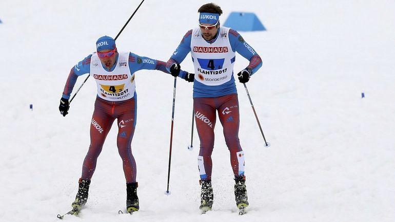 Александр БЕССМЕРТНЫХ (слева) и Сергей УСТЮГОВ. Фото AFP