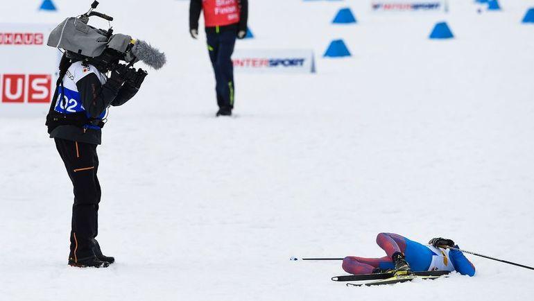 Алексей ЧЕРВОТКИН после финиша. Фото AFP