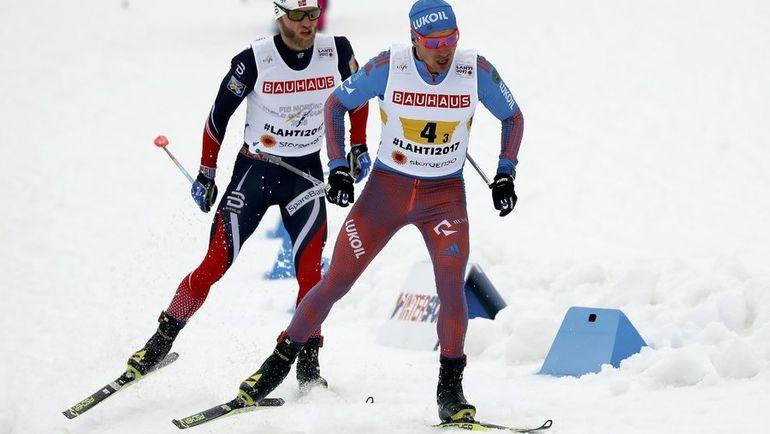 Сегодня. Лахти. Алексей ЧЕРВОТКИН (справа) и Мартин СУНДБЮ. Фото Reuters