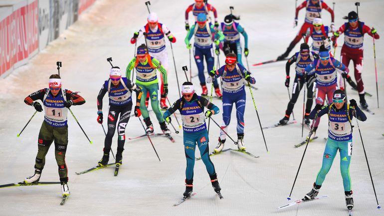 Сегодня. Пхенчхан. Россиянки были среди лидеров не очень долго... Фото AFP
