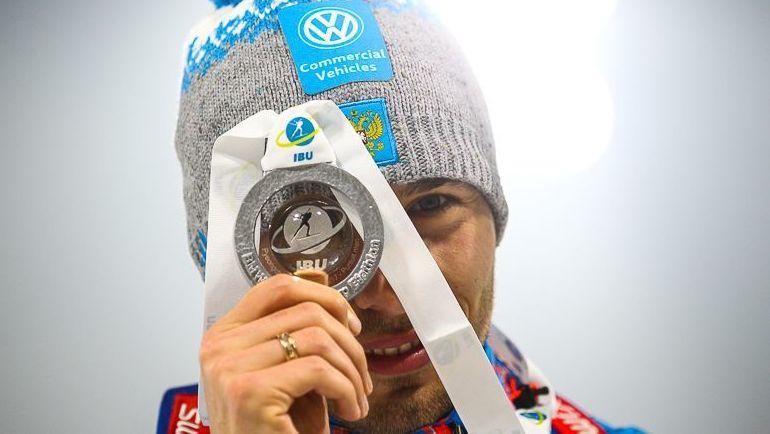Сегодня. Пхенчхан. Антон ШИПУЛИН с серебром гонки преследования. Фото СБР
