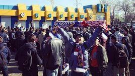 "В очереди за билетами на матч ""Ростов"" - ""МЮ"" не раз случались драки."