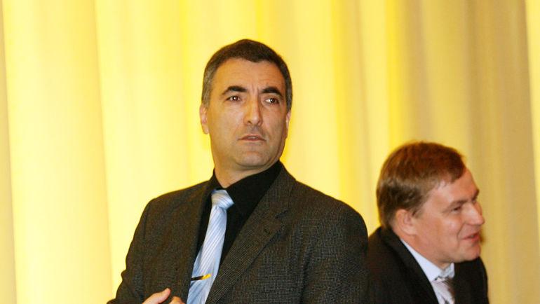 Леонид ВАЙСФЕЛЬД (слева). Фото Александр ФЕДОРОВ, «СЭ»