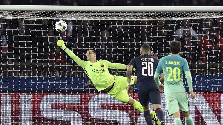 """В первой игре """"Барселона"""" была разбита """"ПСЖ"""". Фото AFP"""