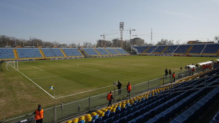 "Общий вид стадиона ""Олимп-2"". Фото Reuters"