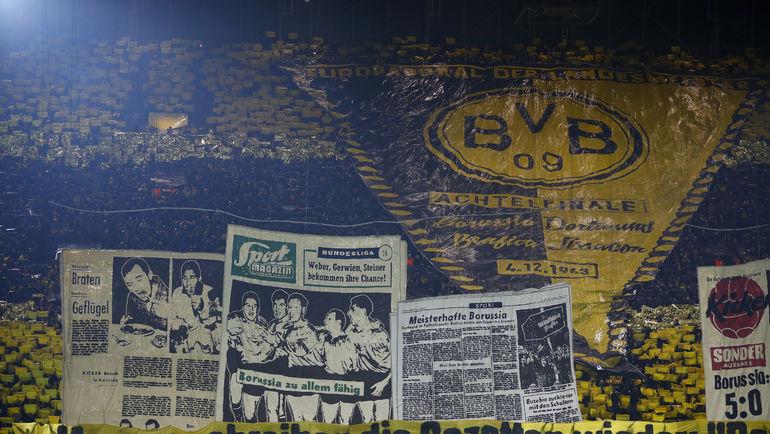 """Среда. Дортмунд. """"Боруссия"""" - """"Бенфика"""" - 4:0. Невероятный перфоманс хозяев стадиона. Фото AFP"""