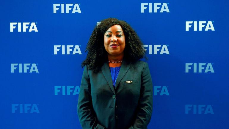 Генеральный секретарь ФИФА Фатма Самура. Фото Reuters