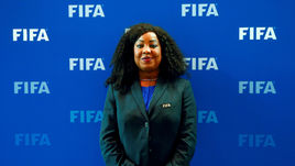 Генеральный секретарь ФИФА Фатма Самура.