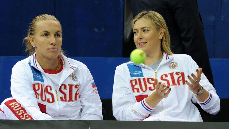 "Светлана КУЗНЕЦОВА и Мария ШАРАПОВА. Фото Никита УСПЕНСКИЙ, ""СЭ"""