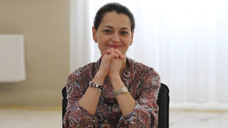 Александра КОСТЕНЮК. Фото Этери КУБЛАШВИЛИ