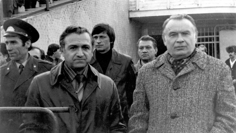 Никита СИМОНЯН, Виктор ПРОКОПЕНКО и Константин БЕСКОВ. Фото Алексей ВЕРБЕНКО