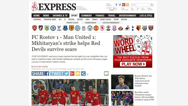 The Daily Express.