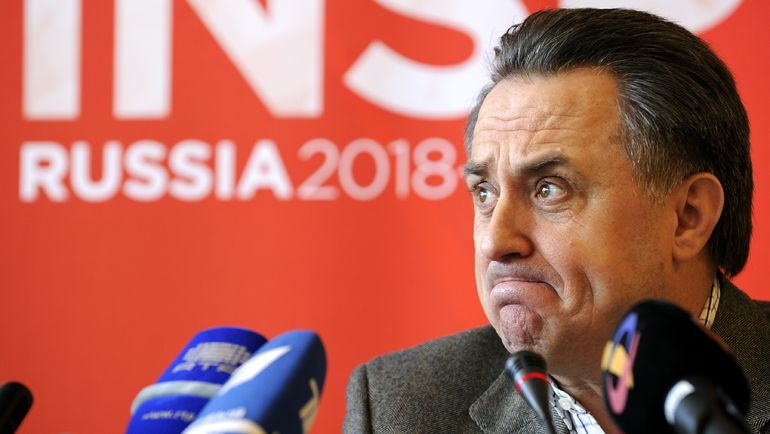 "Глава оргкомитета ""Россия-2018"" Виталий МУТКО. Фото AFP"