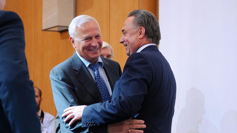 Вячеслав КОЛОСКОВ и Виталий МУТКО. Фото Алексей ИВАНОВ, «СЭ»