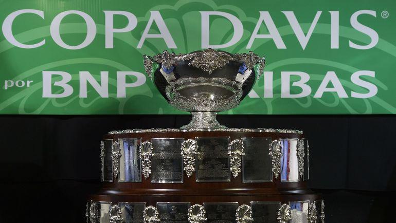 Знаменитая Серебряная салатница - трофей за победу в Кубке Дэвиса. Фото AFP