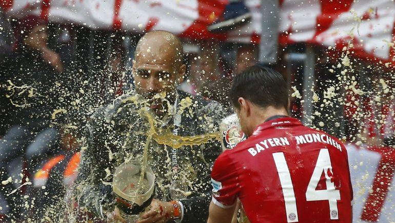 Хосеп ГВАРДЬОЛА. и ХАБИ АЛОНСО. Фото Reuters