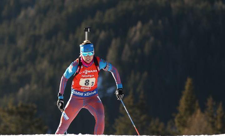 Екатерина ГЛАЗЫРИНА. Фото Союз биатлонистов России