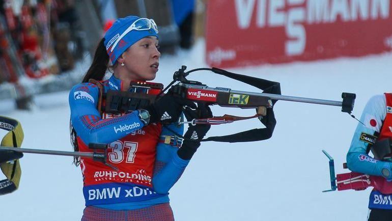 Ульяна КАЙШЕВА. Фото Союз биатлонистов России