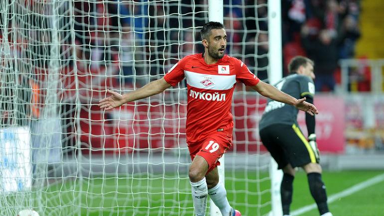 ...забил первый гол за красно-белых после возвращения. Фото Алексей ИВАНОВ, «СЭ»