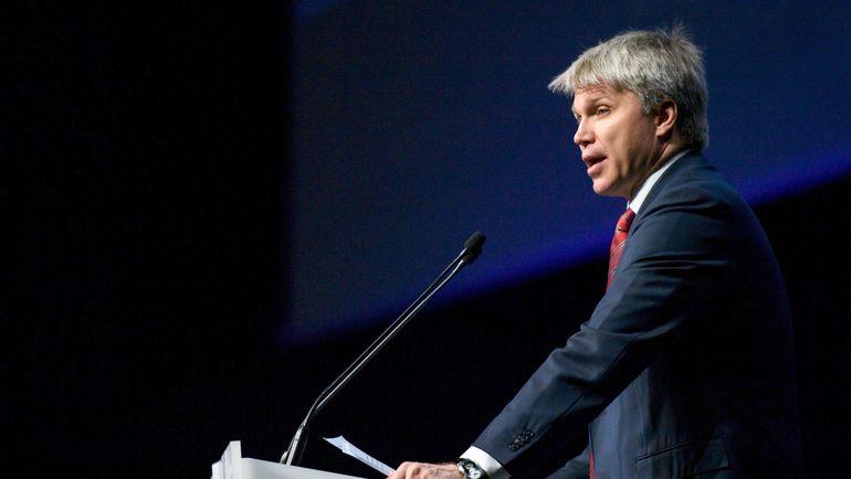 Министр спорта России Павел КОЛОБКОВ. Фото AFP