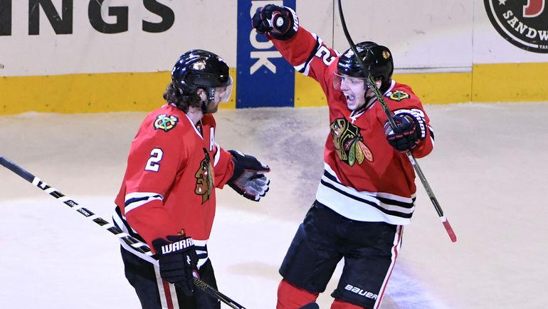 Артемий ПАНАРИН (справа) и Данкан КИТ (№2). Фото USA Today
